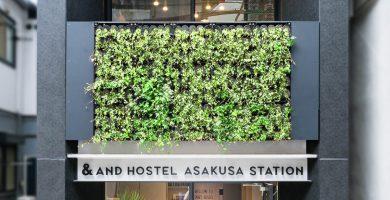 AND HOSTEL ASAKUSA STATIONの外観画像
